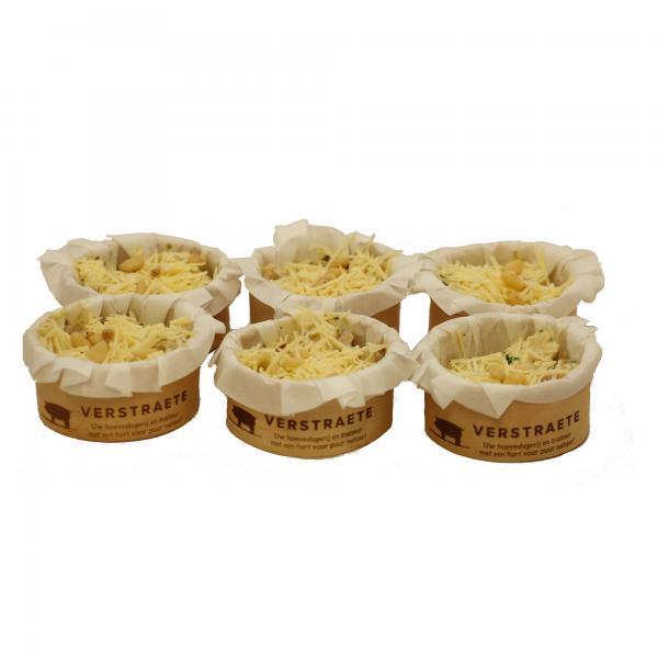 Hoeveslagerij Verstraete cupje pasta pesto met kalkoenreepjes