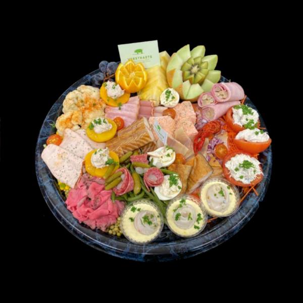 Hoeveslagerij Verstraete koud vlees en vis buffet